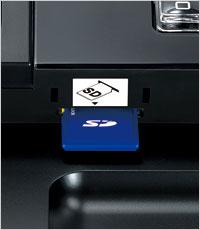 Transferencia de datos a la tarjeta SD para un funcionamiento eficaz