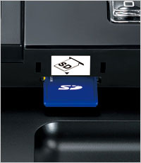 SD card data transfer for efficient operation
